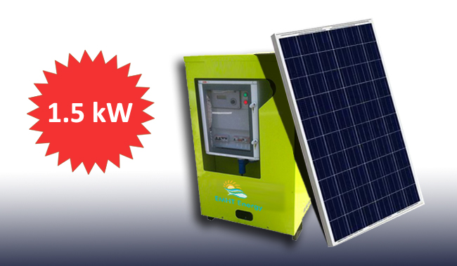 1.5kW Jeannie -The Solar Generator