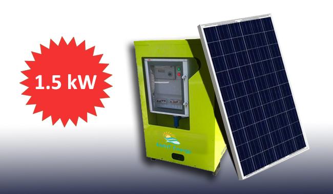 1.5kW Jeannie -The Solar Generator