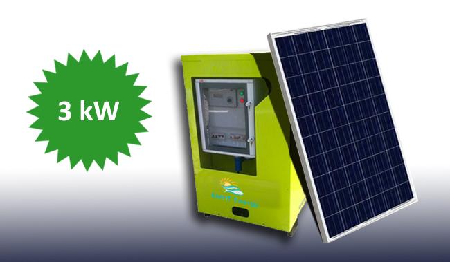 3kW Jeannie The Solar Generator