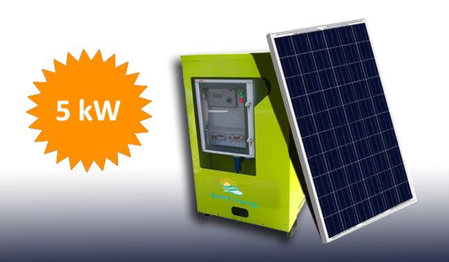 5kW Jeannie The Solar Generator