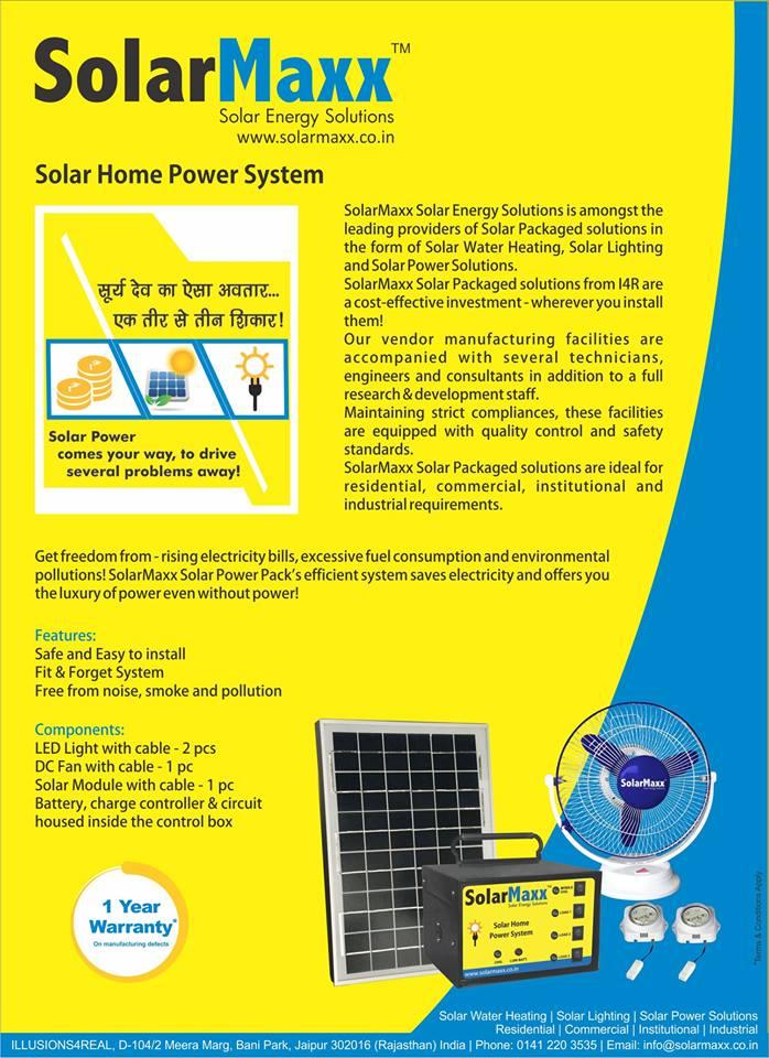 SolarMaxx Solar Energy Solutions Bhilwara