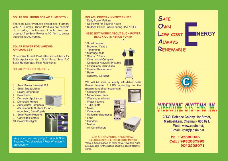 Solar Products and LED Products