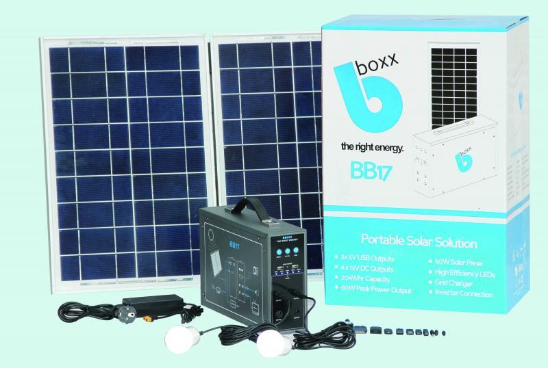 BBOXX Solar Kits