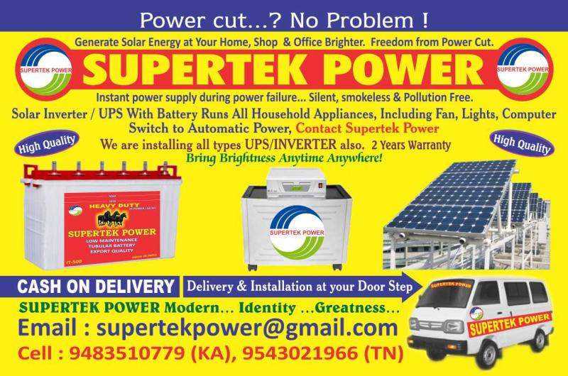 Solar total power pack