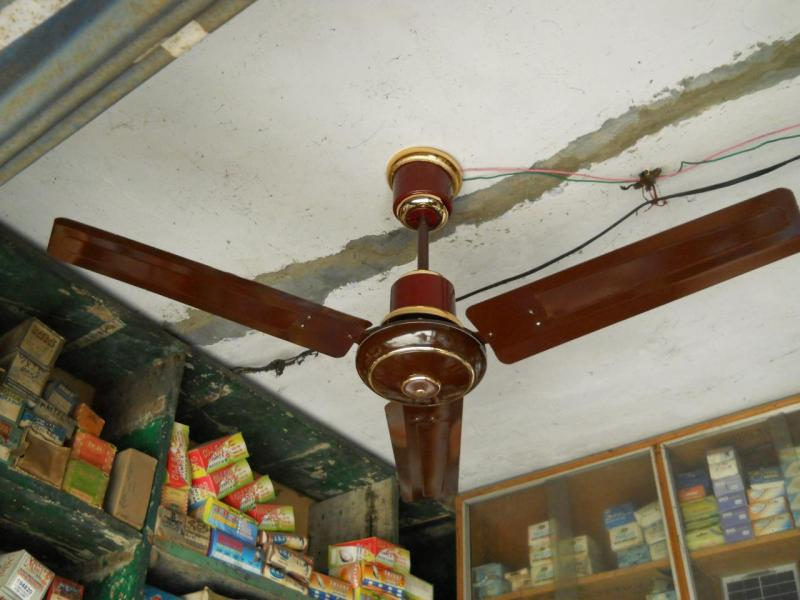 solar ceiling fans from DIP Noida