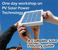 PV Solar Power Workshop