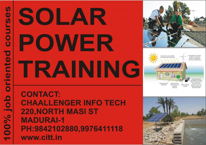 SOLAR POWER TRAINING