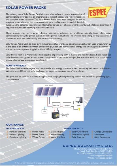 Espee Solaar Pvt Ltd
