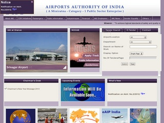 Tenders for providing solar power Obstruction Light on hill top by Airports Authority India