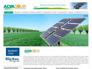ACVA Solar private ltd