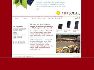 75W,230 W and 280 Watts solar panels from Ajit Solar,Jaipur Rajasthan