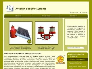 low intensity solar powered aviation lights from Aviation Security Systems,Haryana