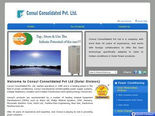 Consul Consolidated Pvt Ltd
