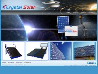 evacuated tube collector solar water heater from Crystal solar,Bangalore