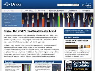 Solar Photovolataic cables from Draka