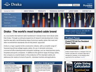 Solar Photovolataic cables from Draka