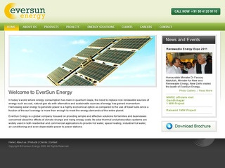 Solar PV and BOS products,design,Engineering,Integration services from Eversun Energy