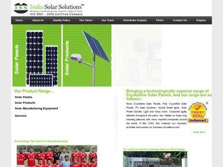 India solar solutions