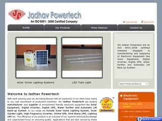 Solar Home Lighting systems from Jadhav Power Tech
