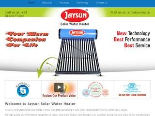Solar Water heaters from Jay Sun, Rajkot
