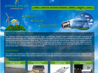 Solar off grid,on grid,roof top solutions,panels,charge controllers,inverters from Jindal Solar,