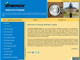 Solar Photovoltaic Plants from Energy Efficient lights,Bangalore
