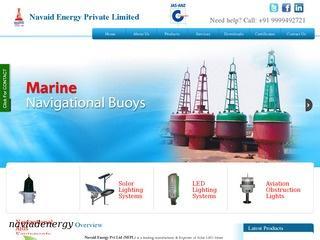Solar streetlights,homelights,aviation and marine lanterns from Navaid Energy,Jaipur