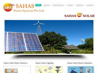 Solar Water heaters (FPC,ETC),lighting systems from Sahas Power,Bangalore