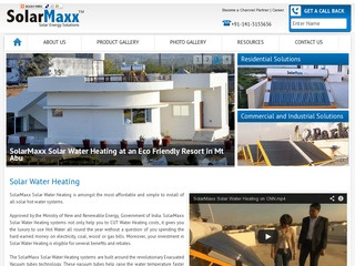 Solar Water Heater Wholesale Supplier in Rajasthan – SolarMaxx