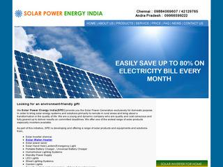 Solar panel mounting structure chennai