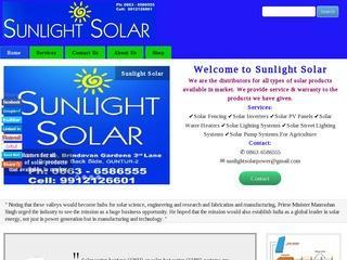 Sunlight Solar - Solar products distributors, Guntur, Andhra Pradesh