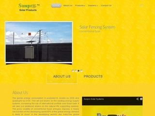solar water heaters,fence,street lights,fans,customised solutions from SunPro,Guntur