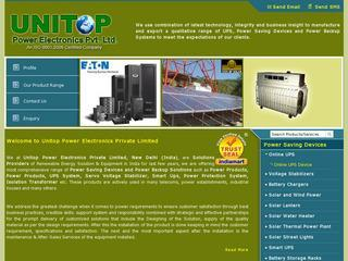 Solar wind Hybrid systems,water heaters from Unitop Power,Delhi