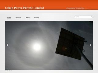 Solar air conditioners,power packs,trackers from Ushap Power Private ltd