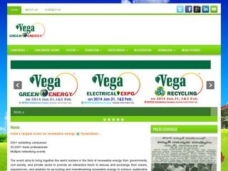 Vega Green Energy-Largest renewable energy event at Hyderabad on 31st Jan,1st & 2nd Feb 2014.