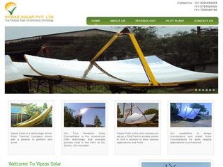 Solar Parabolic Concentrators